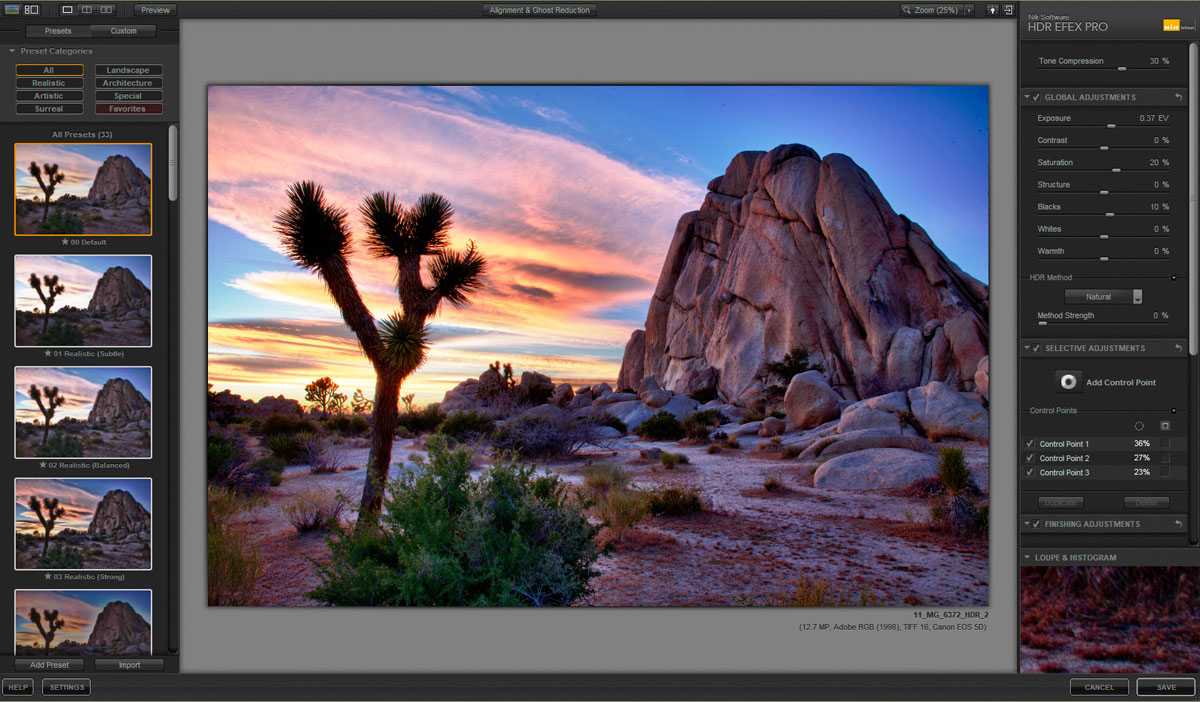 Software foto editing hdr efex pro 33