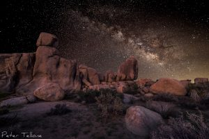Final Composite Milky Way Image